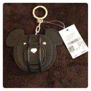 Michael Kors 3D Leather Bear Charm